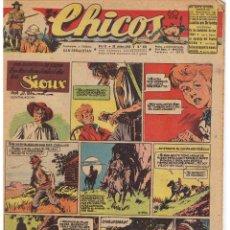 Tebeos: CHICOS. Nº 392, 30 DE JUNIO DE 1946. (CON ALGUN DEFECTO). EDTOR. CONSUELO GIL. Lote 44430480