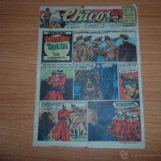 Tebeos: CHICOS ORIGINAL Nº 454 EDITORIAL CONSUELO GIL AÑO 1947. Lote 233529570