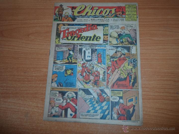 CHICOS ORIGINAL Nº 354 EDITORIAL CONSUELO GIL AÑOS 40 (Tebeos y Comics - Consuelo Gil)