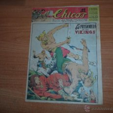 Giornalini: CHICOS ORIGINAL Nº 325 EDITORIAL CONSUELO GIL AÑOS 40 . Lote 45646992