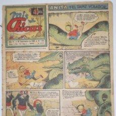TEBEO ORIGINAL MIS CHICAS - AÑO VI - 6 SEPTIEMBRE 1946 - NÚM. 244 - ANITA Y EL TAPIZ VOLADOR