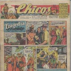 Tebeos: TEBEO CHICOS AÑO VIII 1 SEPTIEMBRE 1945 Nº 360 UNA AVENTURA DE CUTO TRAGEDIA EN ORIENTE. Lote 49720372