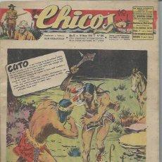 Tebeos: TEBEO CHICOS AÑO IX 19 MAYO 1946 Nº 386 CUTO EN LOS DOMINIOS DE LOS SIOUX. Lote 49720383