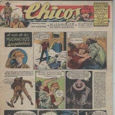 Livros de Banda Desenhada: TEBEO CHICOS AÑO X 11 ENERO 1948 Nº 469, EL CASO DE LOS MUCHACHOS DESAPARECIDOS. Lote 49729315