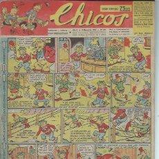 Tebeos: TEBEO CHICOS AÑO X 9 MARZO 1947 Nº 427, INFORMES DE INVESTIGACIONES. Lote 49729375