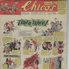 Tebeos: TEBEO CHICOS AÑO X 23 MARZO 1947 Nº 429, BUEN TRUCO. Lote 49729383