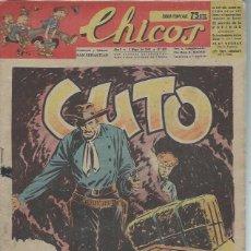 Tebeos: TEBEO CHICOS AÑO X 4 MAYO 1947 Nº 435, CUTO. Lote 49729566