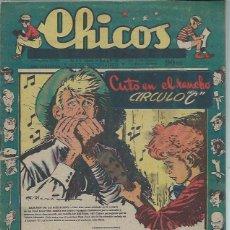 Tebeos: TEBEO CHICOS AÑO XI 1 AGOSTO 1948 Nº 488, CUTO EN EL RANCHO CÍRCULO C. Lote 49729845