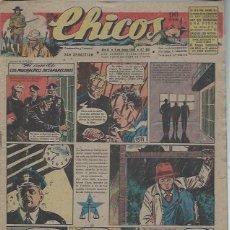 Livros de Banda Desenhada: TEBEO CHICOS AÑO XI 6 JUNIO 1948 Nº 490, EL CASO DE LOS MUCHACHOS DESAPARECIDOS. Lote 49730618