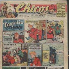 Livros de Banda Desenhada: TEBEO CHICOS AÑO VIII 11 SEPTIEMBRE 1945 Nº 361, UNA AVENTURA DE CUTO TRAGEDIA EN ORIENTE. Lote 49732646