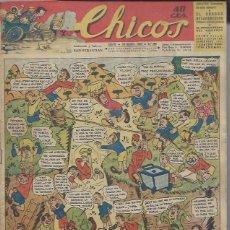 Tebeos: TEBEO CHICOS AÑO VI 29 SEPTIEMBRE 1943 Nº 269, EN EL CAMPO. Lote 49746289