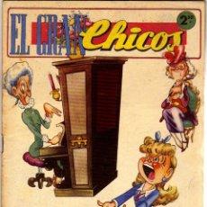 Livros de Banda Desenhada: EL GRAN CHICOS Nº 16 (CONSUELO GIL, MARZO DE 1947). Lote 50777455