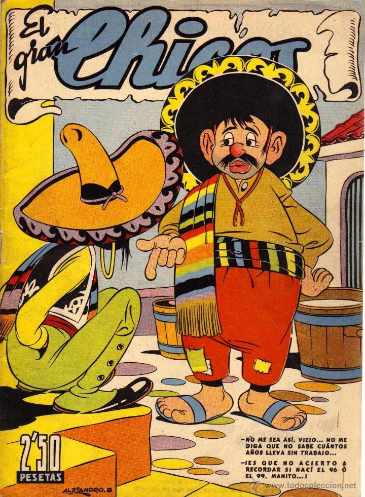 ARCHIVO (476): EL GRAN CHICOS Nº 17 (CONSUELO GIL, ABRIL DE 1947) (Tebeos y Comics - Consuelo Gil)