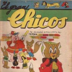 Tebeos: EL GRAN CHICOS Nº 13 ( NOVIEMBRE 1946 ). Lote 50809072