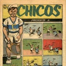 Giornalini: ARCHIVO (87): CHICOS 2ª EPOCA Nº 60 (1952). CON FIGUERAS, PUIGMIQUEL, RIP KIRBY Y BIG BEN BOLT. Lote 52279316