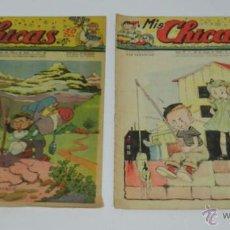 Tebeos: MIS CHICAS 1942.NUMEROS. Nº 56 Y 90.MEDIDAS 21 X 24 CMS. TIENEN 15 PAG.. Lote 53010354