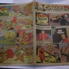 Tebeos: CHICOS 458 PRIMERA PUBLICACIÓN DE FRANCISCO IBÁÑEZ ,PADRE DE MORTADELO, CON 11 AÑOS 1947 IMPECABLE. Lote 60394419