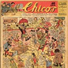 Tebeos: TEBEO CHICOS AÑO VI 15 DE DICIEMBRE 1943 Nº 280. Lote 69280809