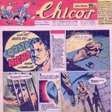 Tebeos: CHICOS Nº449. ADRIANO BLASCO, CANELLAS CASALS, GABI, COZZI, WHITE.... Lote 74197319