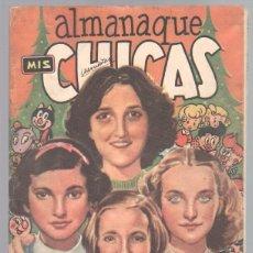 Tebeos: ALMANAQUE MIS CHICAS PARA 1950 ORIGINAL - MUY BIEN CONSERVADO. Lote 85466604