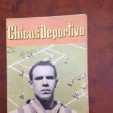 Tebeos: CHICOS DEPORTIVO-NÚMERO 51-PRIMERO DECHICOS DEPORTIVO-C.GIL-AÑO 1952. Lote 88861912