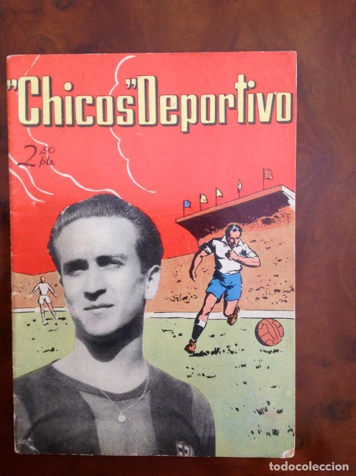 CHICOS DEPORTIVO-NÚMERO 52-C.GIL-CON SUPLEMENTO DEPORTIVO (Tebeos y Comics - Consuelo Gil)