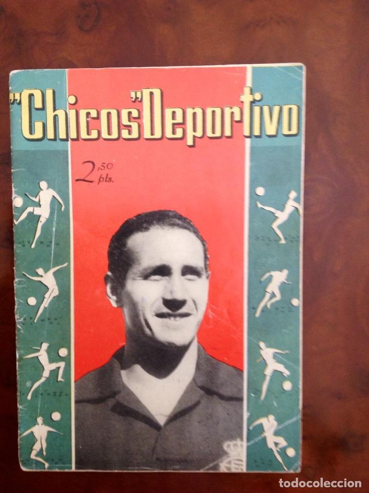 CHICOS DEPORTIVO-NÚMERO 54-SEGUNDA ÉPOCA -C.GIL-AÑO 1952-CON SUPLEMENTO DEPORTIVO (Tebeos y Comics - Consuelo Gil)