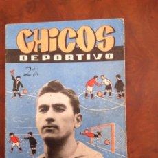 Chicos Deportivo-Número 55-C.Gil-Con suplemento deportivo-Año 1952