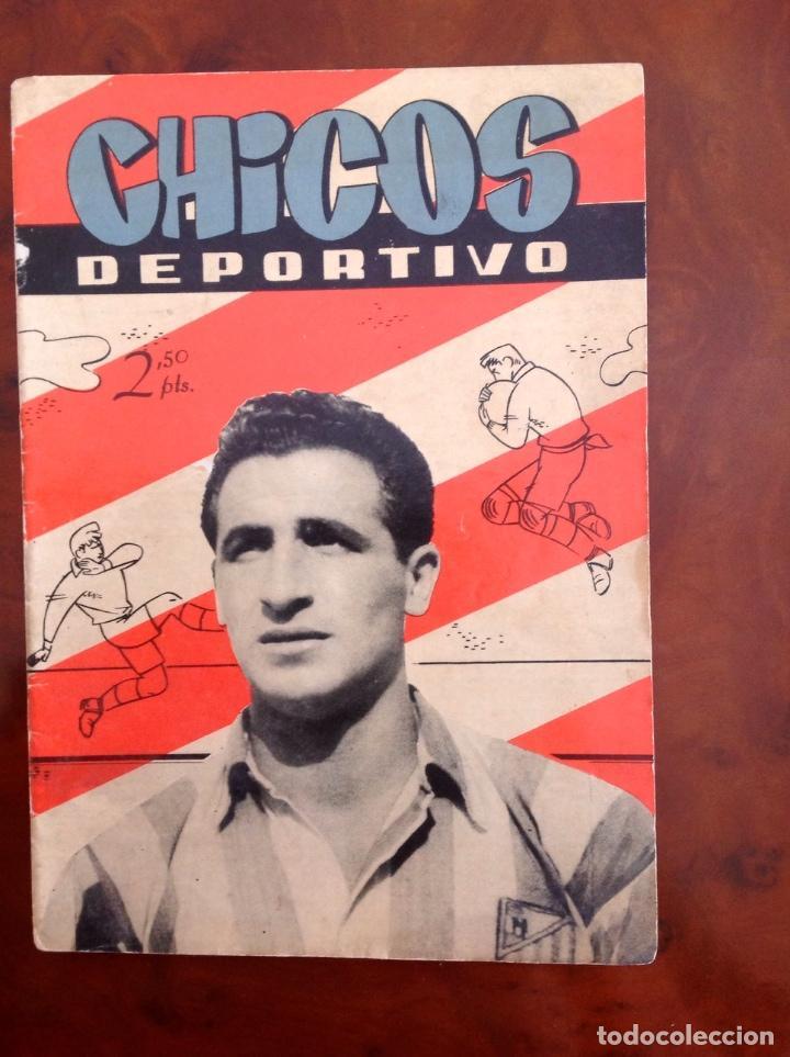 CHICOS DEPORTIVO-NÚMERO 56-C.GIL-CON SUPLEMENTO DEPORTIVO-AÑO 1952 (Tebeos y Comics - Consuelo Gil)