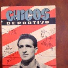 Tebeos: CHICOS DEPORTIVO-NÚMERO 56-C.GIL-CON SUPLEMENTO DEPORTIVO-AÑO 1952. Lote 88866004