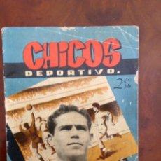 Tebeos: CHICOS DEPORTIVO-NÚMERO 57-C.GIL-CON SUPLEMENTO DEPORTIVO-AÑO1952. Lote 88868712
