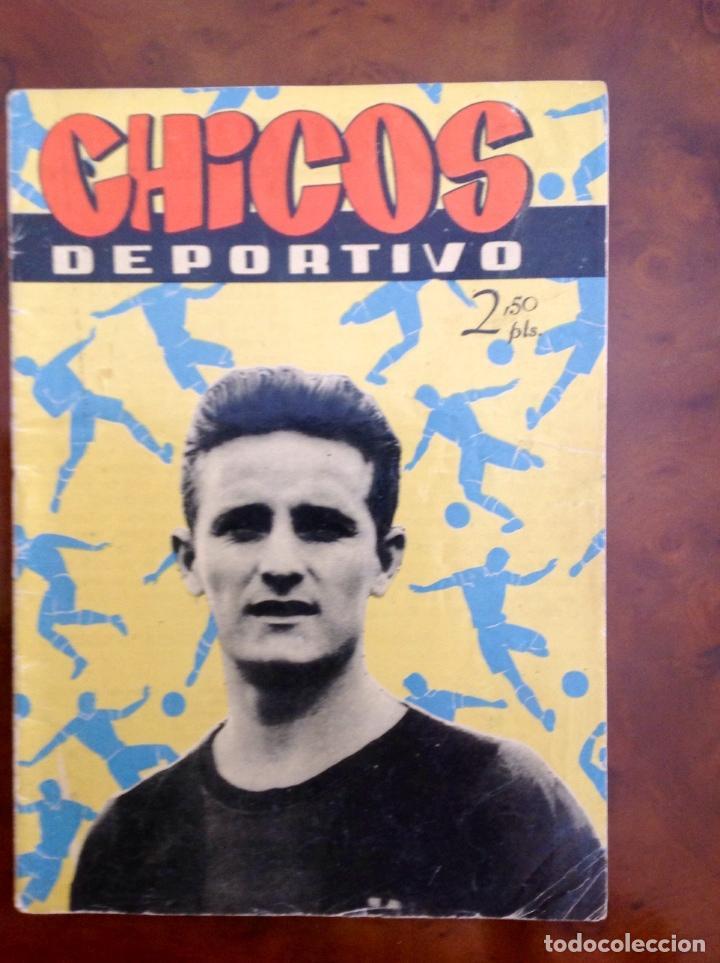 CHICOS DEPORTIVO-NÚMERO 58-C.GIL-CON SUPLEMENTO DEPORTIVO-AÑO 1952 (Tebeos y Comics - Consuelo Gil)