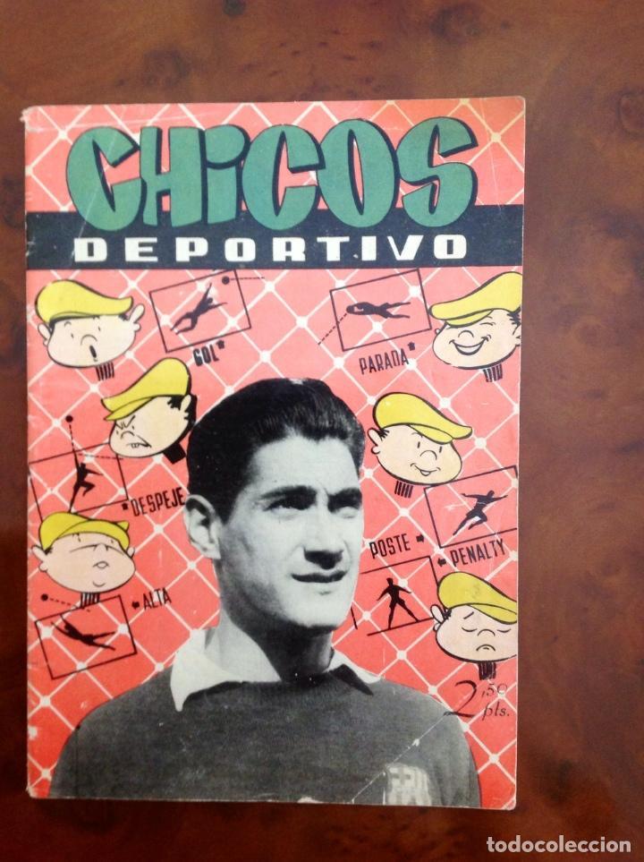 CHICOS DEPORTIVO-NÚMERO 62-C.GIL-CON SUPLEMENTO DEPORTIVO-AÑO 1952 (Tebeos y Comics - Consuelo Gil)