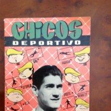 BDs: CHICOS DEPORTIVO-NÚMERO 62-C.GIL-CON SUPLEMENTO DEPORTIVO-AÑO 1952. Lote 88869236