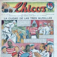 Tebeos: CHICOS ORIGINAL Nº 96 - ENERO 1940 - MUY BUENA CONSERVACION, MUY DIFICIL. Lote 89611112