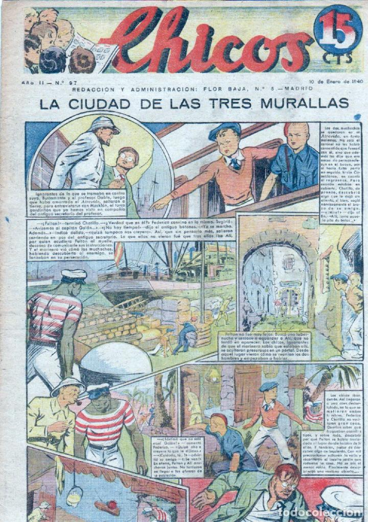 CHICOS ORIGINAL Nº 97, MUY BIEN CONSERVADO (Tebeos y Comics - Consuelo Gil)