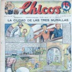Tebeos: CHICOS ORIGINAL Nº 97, MUY BIEN CONSERVADO. Lote 89611156