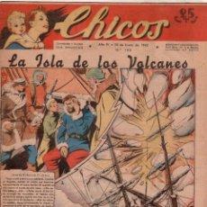 Giornalini: CHICOS ORIGINAL Nº 198 EXCELENTE ESTADO - ENERO 1942. Lote 89611660