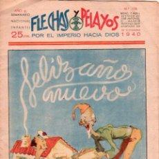 Tebeos: FLECHAS Y PELAYOS Nº 108 - DICIEMBRE 1940 - MUY BIEN CONSERVADO. Lote 89612900