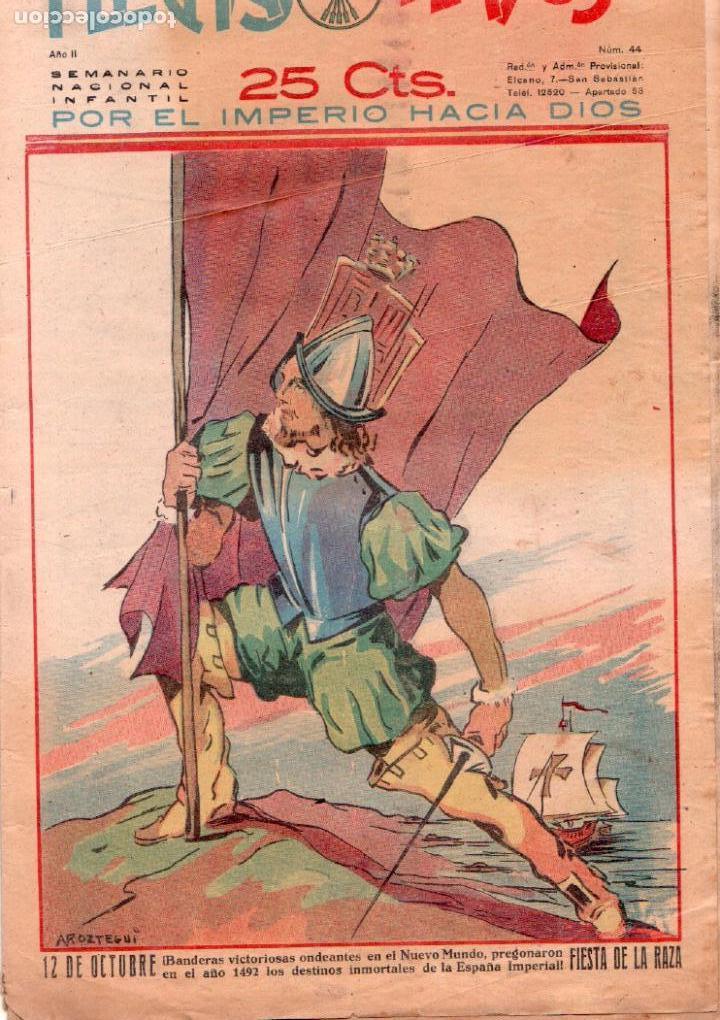 Tebeos: FLECHAS Y PELAYOS ORIGINAL Nº 44 - OCTUBRE 1939 - Foto 2 - 89613336