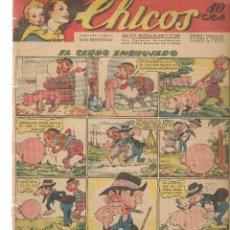 Livros de Banda Desenhada: CHICOS, Nº 245. CONSUELO GIL. 1943. (RF.MA)C/2. Lote 97508387