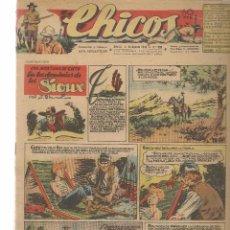 Tebeos: CHICOS. Nº 399. CONSUELO GIL. 1946. (RF.MA)C/7. Lote 97607439