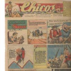 Tebeos: CHICOS. Nº 401. CONSUELO GIL. 1946. (RF.MA)C/7. Lote 97607655