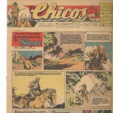 Tebeos: CHICOS. Nº 404. CONSUELO GIL. 1946. (RF.MA)C/7. Lote 97607951