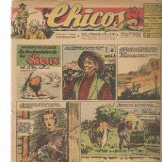 Tebeos: CHICOS. Nº 405. CONSUELO GIL. 1946. (RF.MA)C/7. Lote 97607999