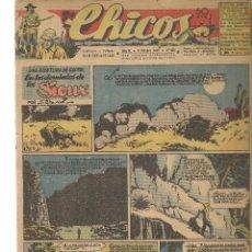 Tebeos: CHICOS. Nº 406. CONSUELO GIL. 1946. (RF.MA)C/7. Lote 97608099