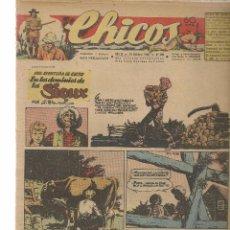Tebeos: CHICOS. Nº 408. CONSUELO GIL. 1946. (RF.MA)C/7. Lote 97608211