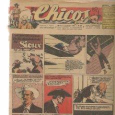 Tebeos: CHICOS. Nº 409. CONSUELO GIL. 1946. (RF.MA)C/7. Lote 97608339