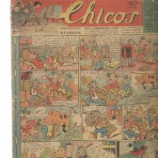 Tebeos: CHICOS. Nº 410. CONSUELO GIL. 1946. (RF.MA)C/7. Lote 97608483