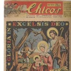 Tebeos: CHICOS. Nº 416. CONSUELO GIL. 1946. (RF.MA)C/7. Lote 97608583